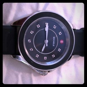 Michele-  Cape Quartz Stainless Steel  Watch